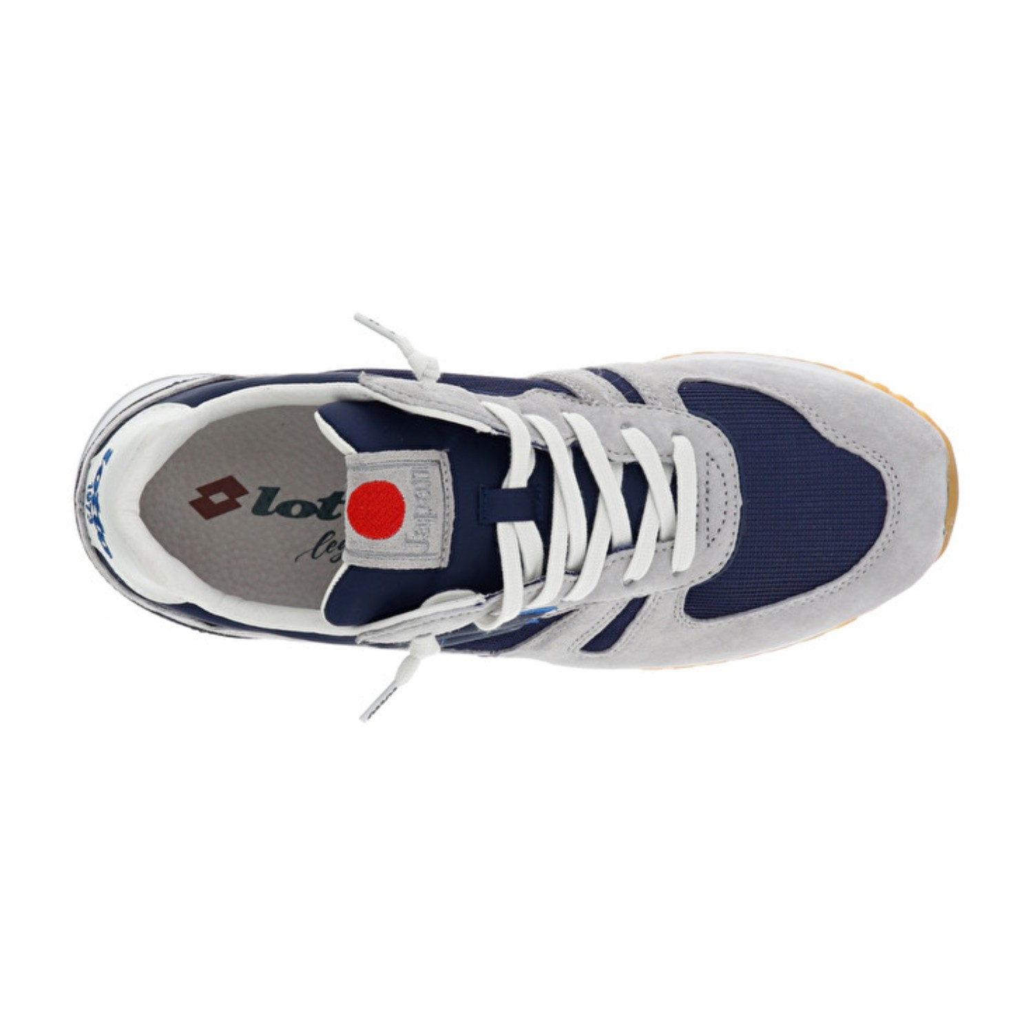 Italiano) LOTTO L58233 TOKIO SHIBUYA GREYBLUE SNEAKERS